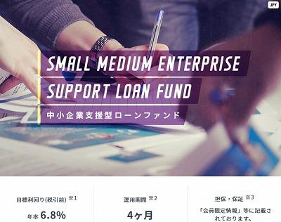 中小企業支援型ローンファンドの概要