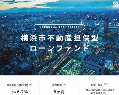 横浜市不動産担保型ローンファンドの案件概要