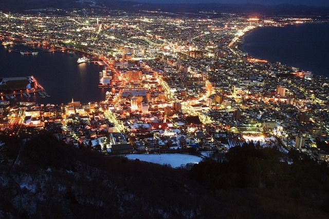 函館100万ドルの夜景