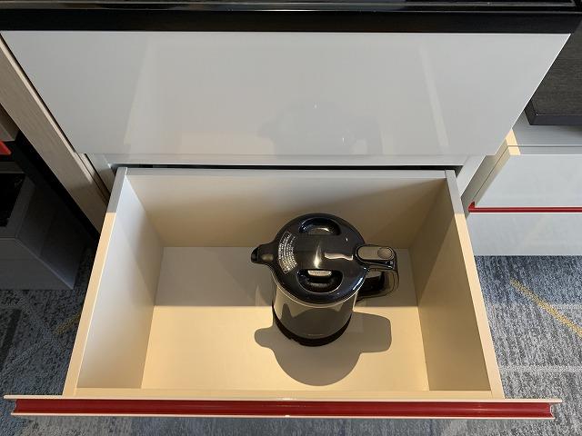 シェラトン都ホテル東京 プレミアムフロア スーペリア 備品の様子2