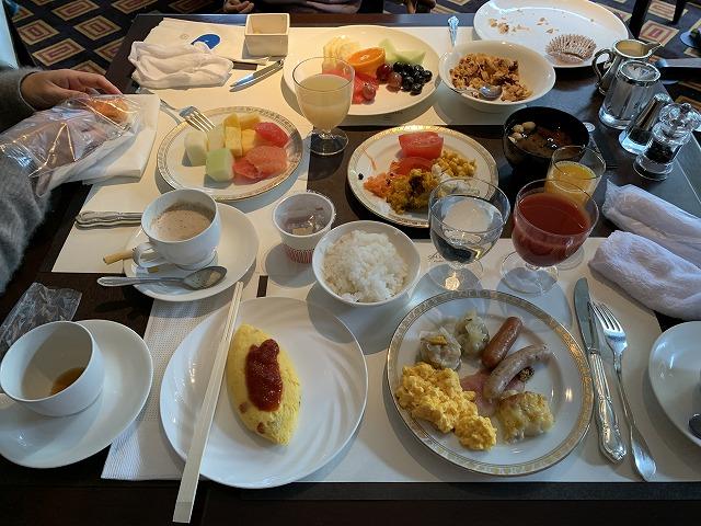 中華料理『四川』の洋食ブッフェの様子3
