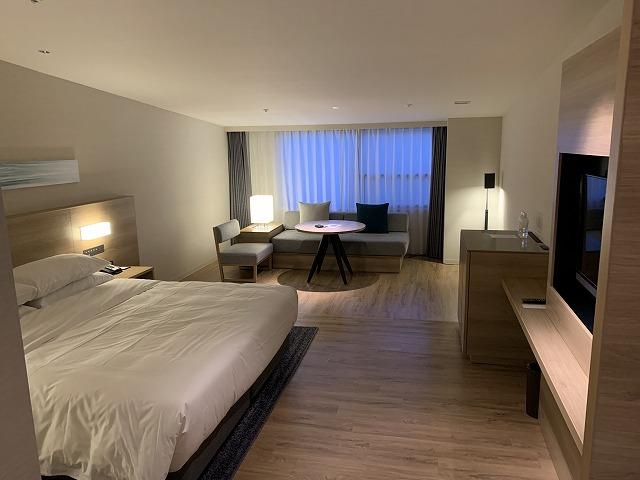 富士マリオットホテル山中湖 スーペリアキングルームの様子