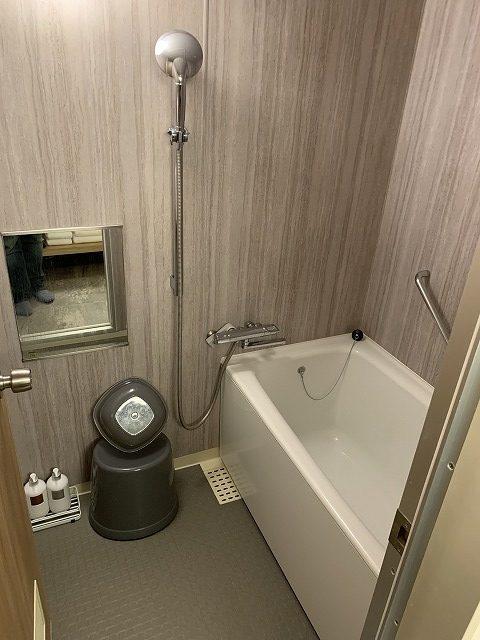 富士マリオットホテル山中湖 スーペリアキングルーム 浴室の様子