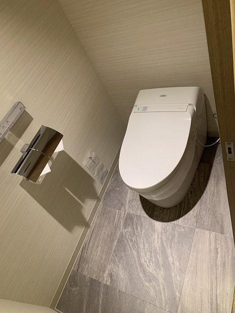 富士マリオットホテル山中湖 スーペリアキングルーム トイレの様子
