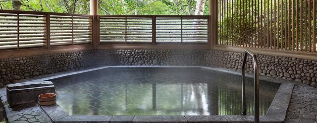 富士マリオットホテル山中湖 1F露天風呂