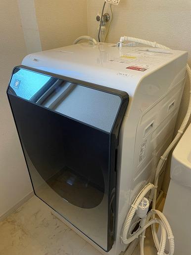 シャープドラム式洗濯機ES-W113